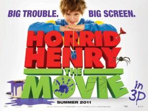 Poster for Horrid Henry the Movie